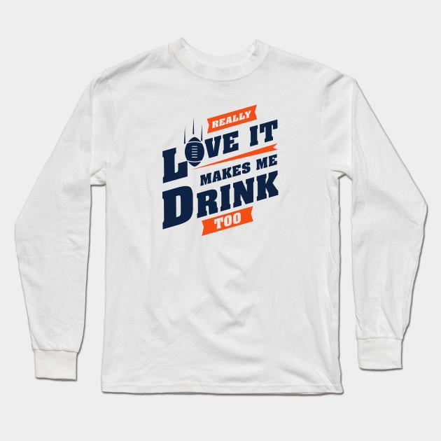 Denver Broncos Football Long Sleeve Shirt