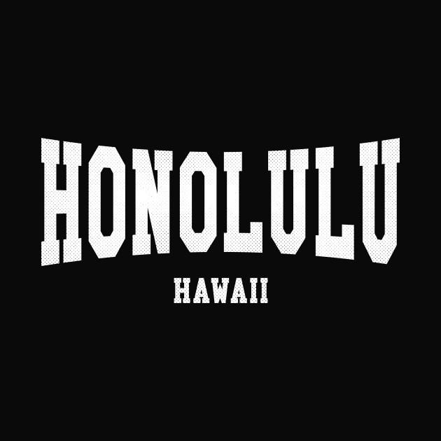 Honolulu, Hawaii - HI Arched Type