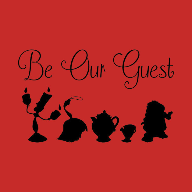 Be Our Guest - Castle Staff