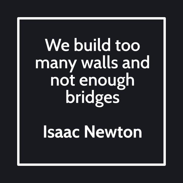Inspirational Isaac Newton Science T-Shirt