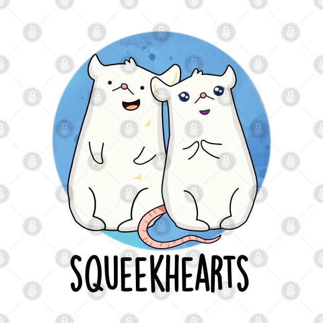 Squeekhearts Cute Mouse Sweetheart Pun