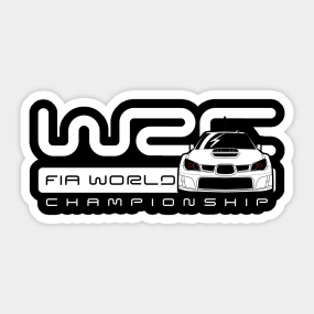 Wrc Stickers Teepublic