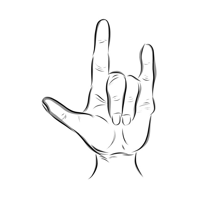 I Love You in American Sign Language