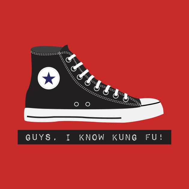 Guys, I know kung-fu