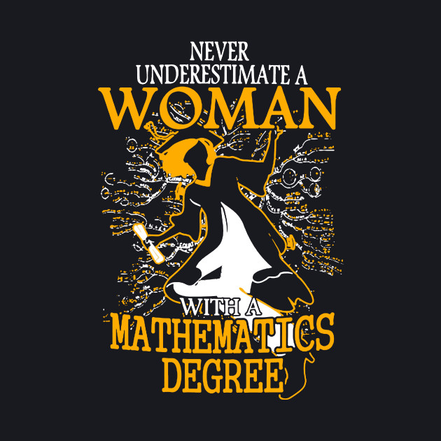 Never Underestimate a Woman with a Mathematics Degree