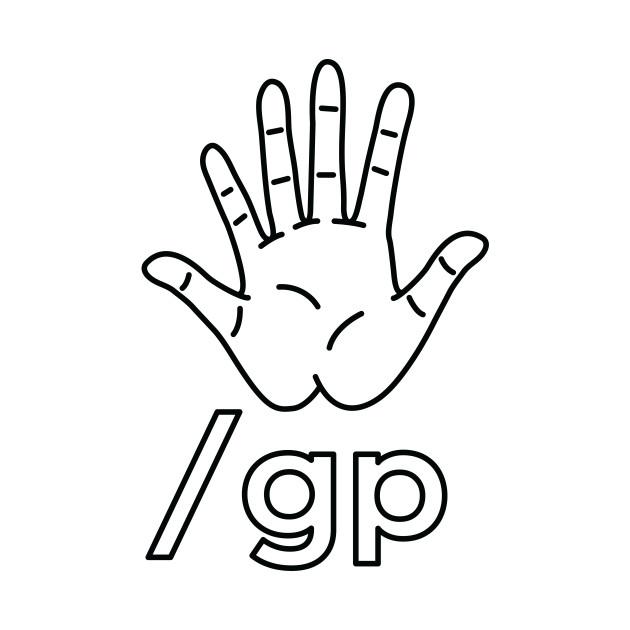 GLENN PRETENND LINE-ART LOGO