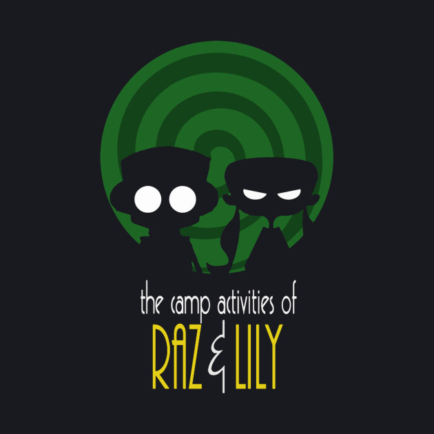 THE CAMP ACTIVITIES OF RAZ & LILI (BATMAN THE ANIMATED SERIES PARODY)