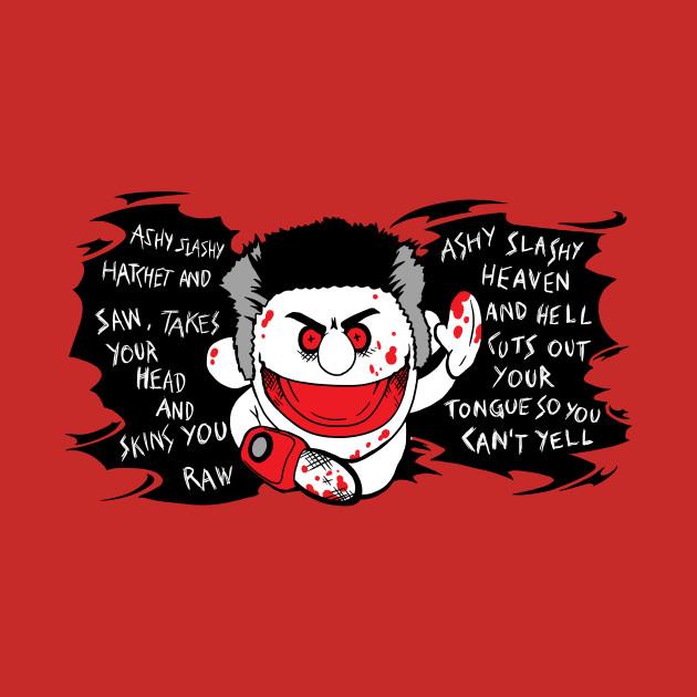 Ashy Slashy Hatchet and Saw Ash Vs Evil Dead