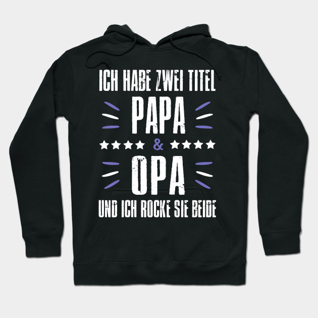 Grandpa Grandfather Gift Hooded Sweatshirt for Dad Birthday