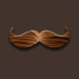 manly mustache t-shirts