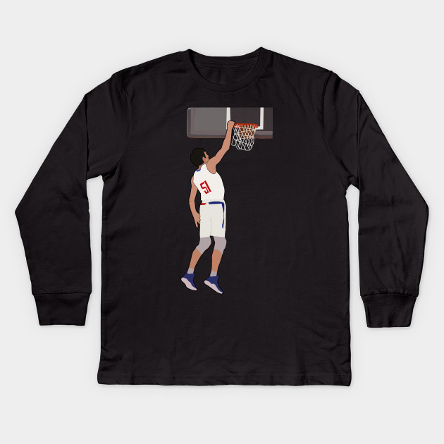 930e469bf53 Boban Marjanovic Dunk - Los Angeles Clippers Kids Long Sleeve T-Shirt. New!