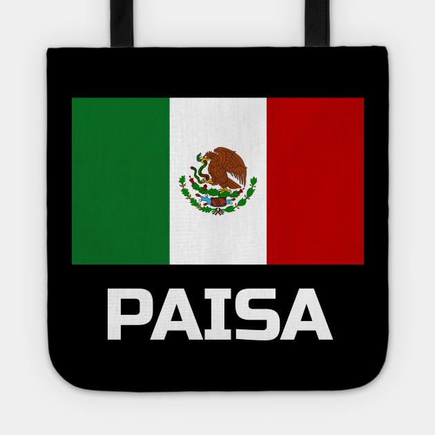 Mexico Flag Paisa