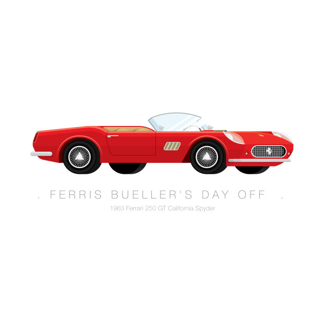 Ferris Bueller's Day Off - Famous Cars