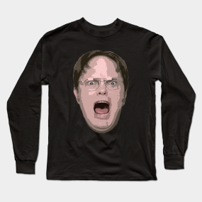 57b835d5 Dwight Schrute The Office Long Sleeve T-Shirts | TeePublic