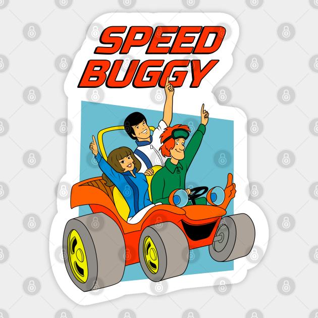 Speed Buggy Speed Buggy Autocollant Teepublic Fr
