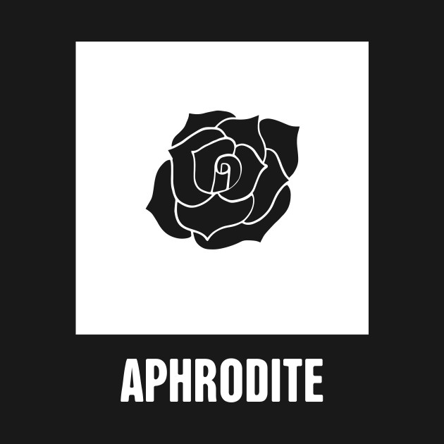 Aphrodite Greek Mythology God Symbol Greek Mythology T Shirt