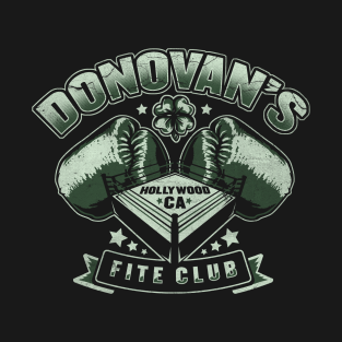 Donovan's Fite Club t-shirts
