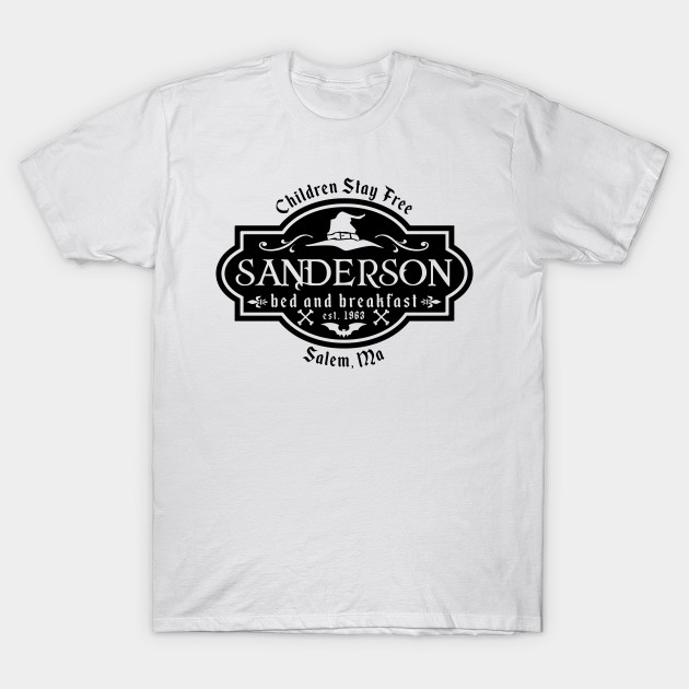 3f4ce25b0 Sanderson bed and breakfast, Hocus Pocus, Winifred Sanderson, Filming  Location, Halloween Shirt, Sanderson Sisters, Sanderson B & B T-Shirt