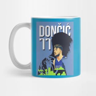 Luka Doncic Rookie of the Year Coffee Mugs