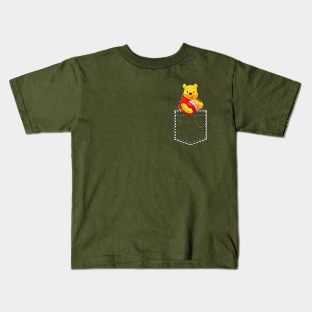 f2cc53dd9521 Winnie the Pooh in My Pocket - Winnie The Pooh - Kids T-Shirt ...