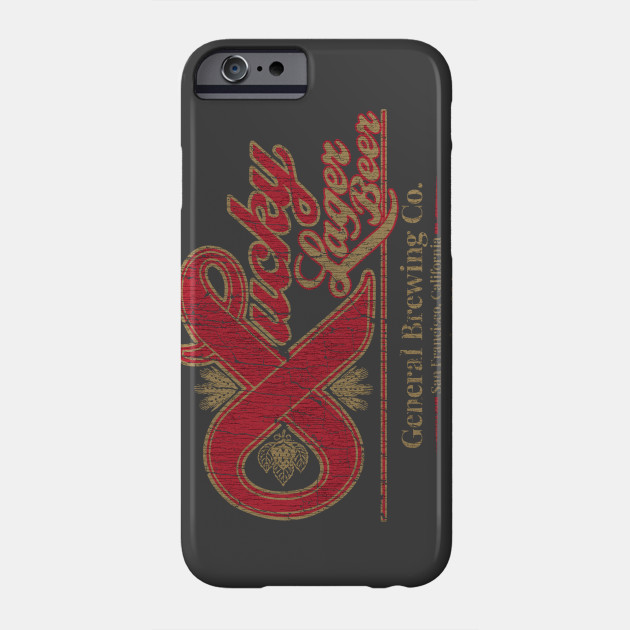 Lucky Lager San Francisco Phone Case
