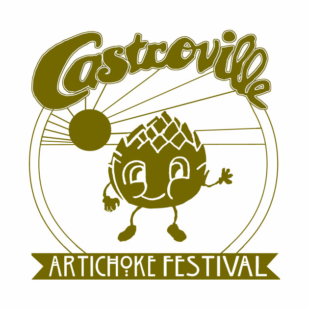 The Original CASTROVILLE ARTICHOKE FESTIVAL - Dustin's shirt in Stranger Things