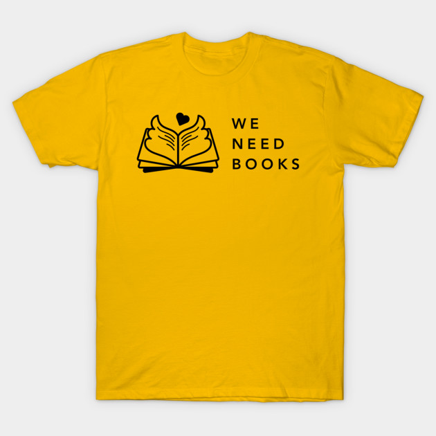 We Need Books (black full logo)