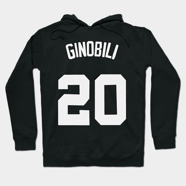 free shipping 4df50 5131e Manu Ginobili Jersey - San Antonio Spurs