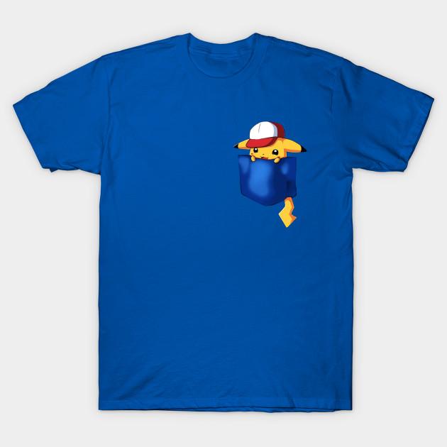 6b59d8a1 Pikachu Pocket - Pokémon - Pikachu - T-Shirt | TeePublic