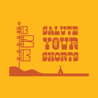 Salute Your Shorts Western Themed