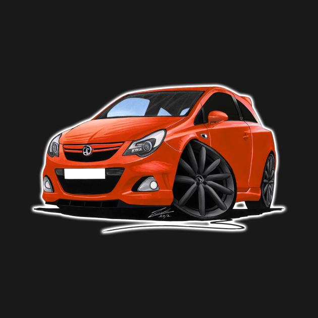 Vauxhall Corsa VXR-Nurburgring Chilli