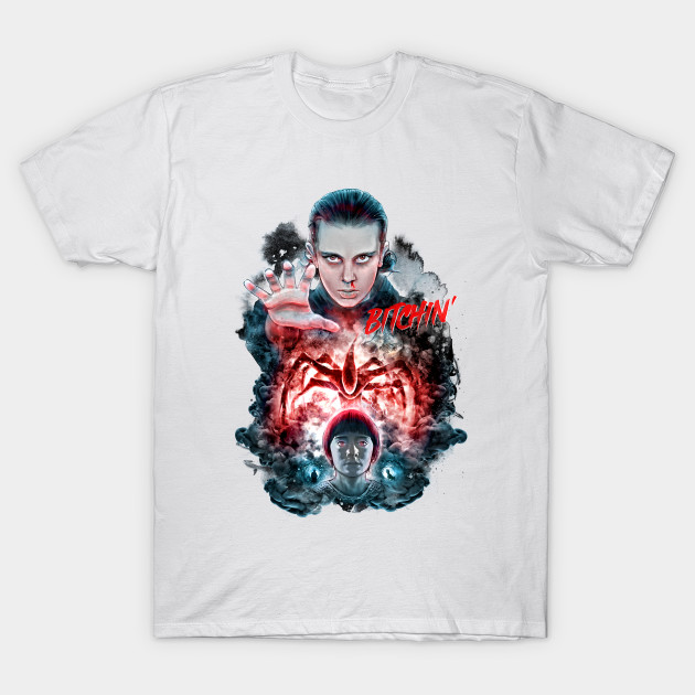 bitchin eleven stranger things t shirt teepublic. Black Bedroom Furniture Sets. Home Design Ideas