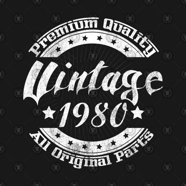 1980 Vintage All Original Parts