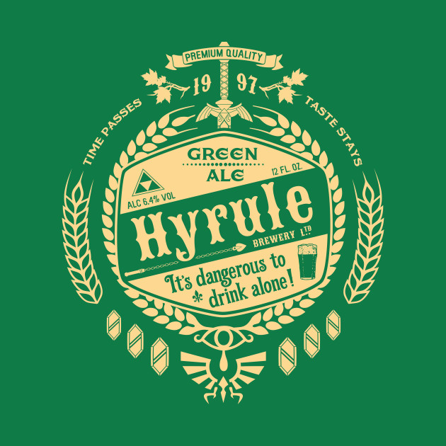 Hyrule Green Ale T-Shirt