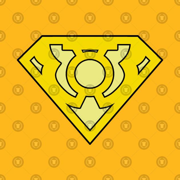 yellow lantern superman - 630×630