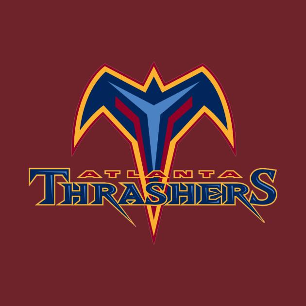 c280eb67b872 Atlanta Thrashers Vintage - Atlanta Thrashers - T-Shirt