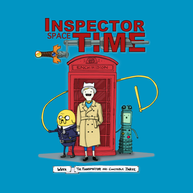 Inspector Spacetime With Finn and Jake