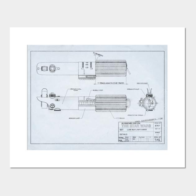 Lukes Anh Lightsaber Blueprint