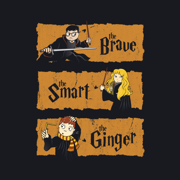 The Brave, the Smart and the Ginger