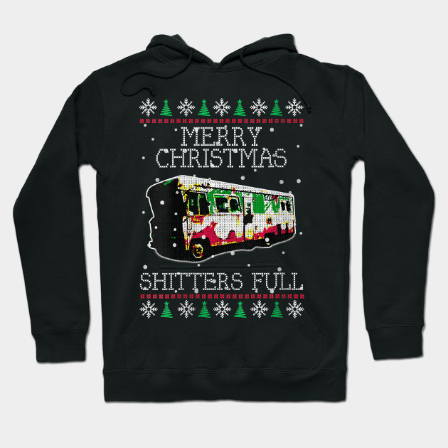 Merry Christmas Shitter/'s Full Hoodie Ugly Sweatshirt Xmas