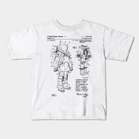 777e477730a Space Suit Patent Kids T-Shirt