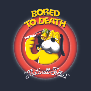 Bored to Death t-shirts