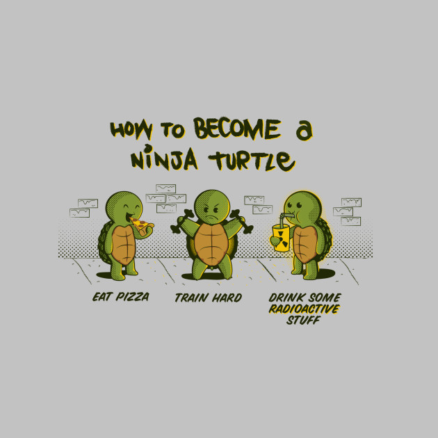 Become A Ninja Turtle