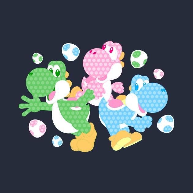 Colorful Dinos