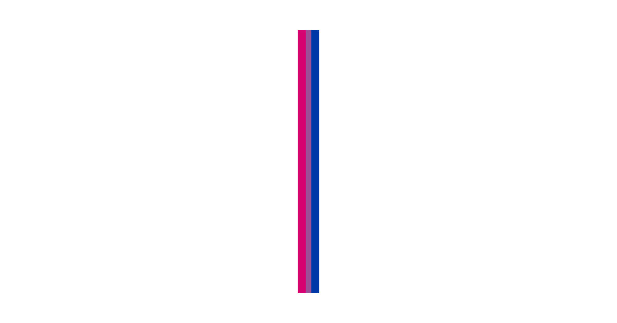 61b1824166a8 Gay Pride LGBT Subtle Bisexual Bi Rainbow Stripe 2018 - Bisexual ...