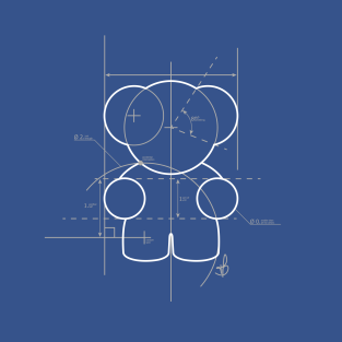 Blueprint T-Shirts | TeePublic