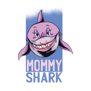 be49aa67 Mommy Shark Mothers day funny gift for mommy T-Shirt