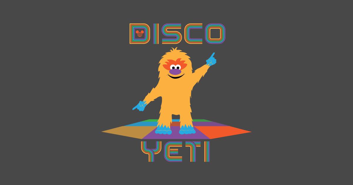 Disco Yeti Walt Disney World T Shirt Teepublic