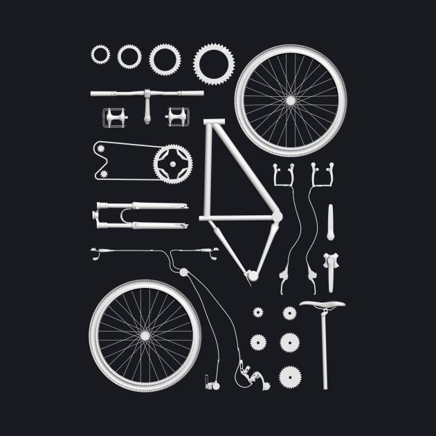 Bike Exploded