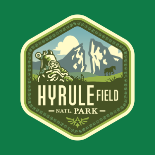 Hyrule Field National Park t-shirts